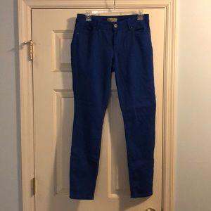 Blue Spice Cobalt Blue Skinny Jeans